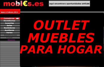 outlet muebles